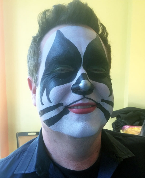 face painting by Princess Camerian