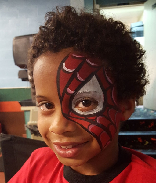 face painting by Samantha Anderson