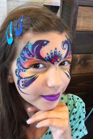 face painter Miryam Janssen image