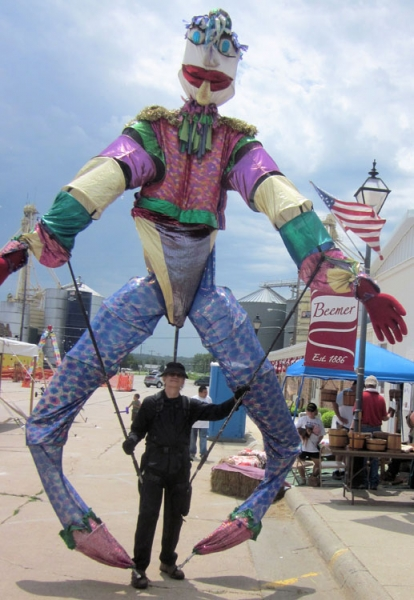 Bill Coleman Stilt Walker Image