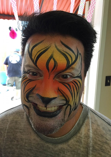face painting by Dianne Nowicki