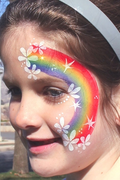 face painting by Danielle Poulter