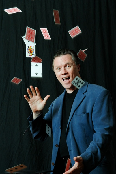 Magician David Lawrence