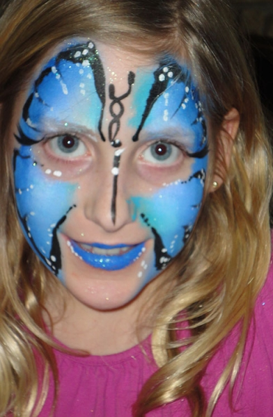 Face Paint by Lucia Sceglio