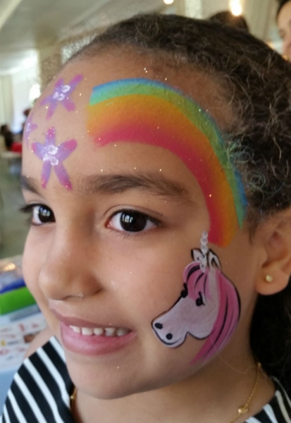 Face Paint by Anna Pinzon