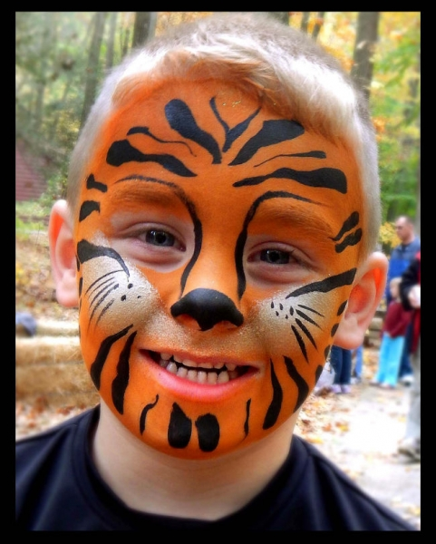 Face Paint by Suzanne Grover