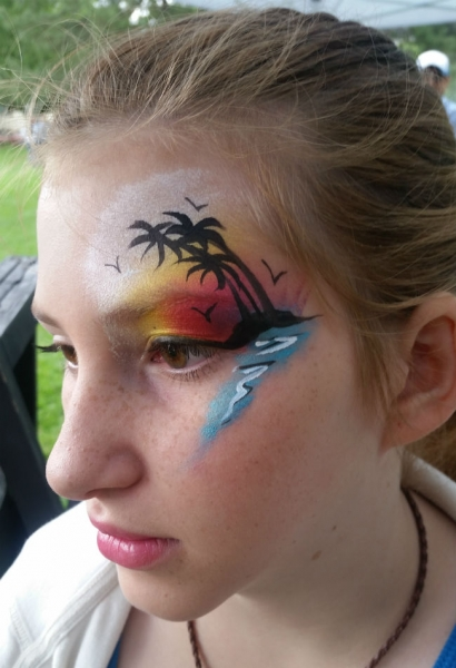 Face Paint by Lizz Daley