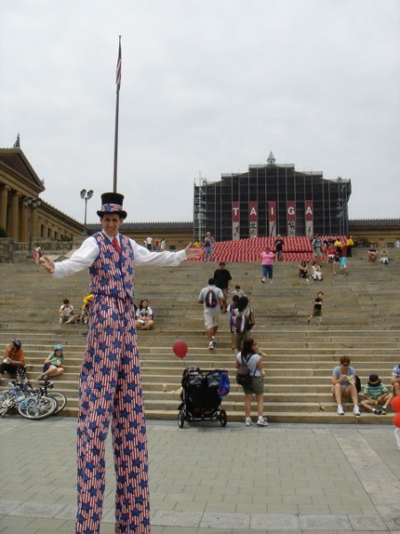 Stilt Walker Andrew Scharff