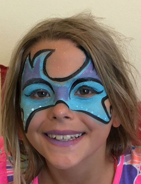 Face Paint by Rebecca Rose