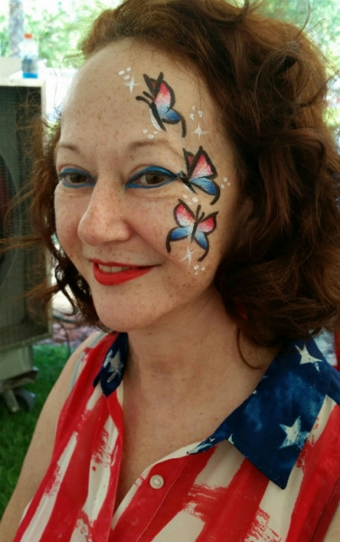 Face Paint by Martha Pongracic