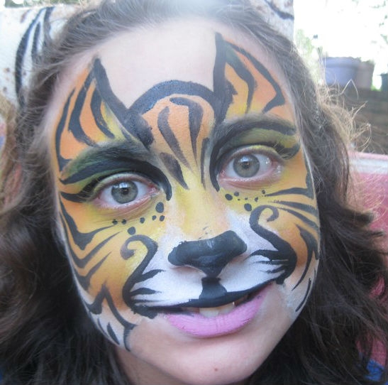 Face Paint by Morgan Feitner