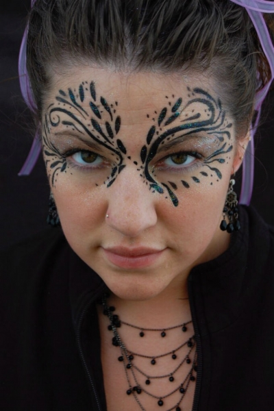 Face Paint by Leah Dalley