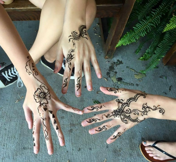 henna art by Kasha Nowik