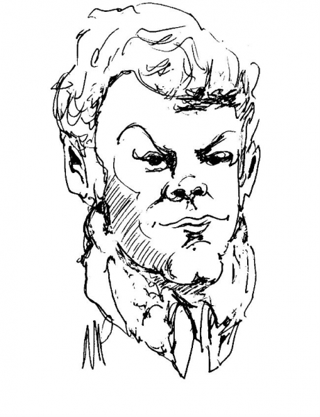 Whead Peoples Party Caricature