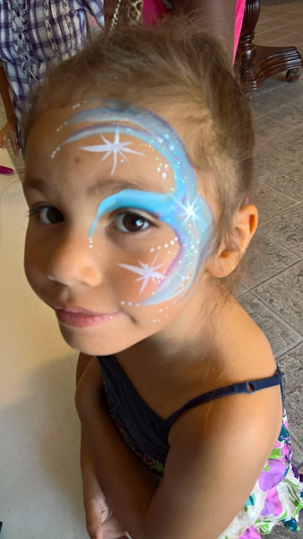 face painting by Donna Plomchok