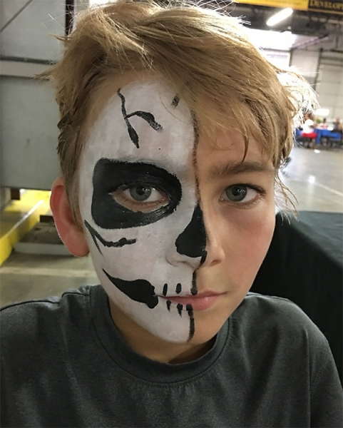 face painting by Patty Pedraza