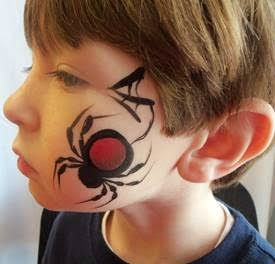 Face Paint by Diane Thomas