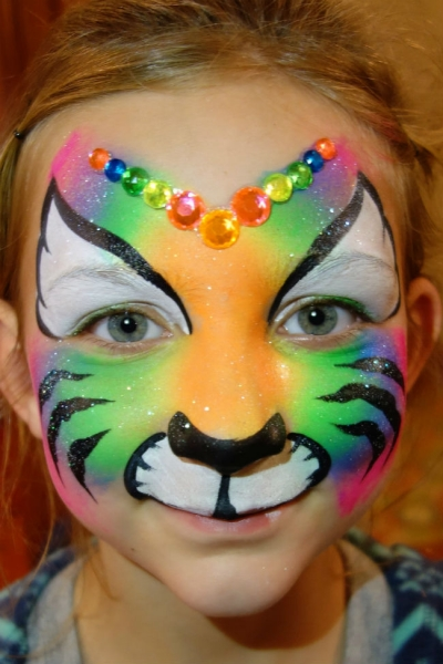 Face Paint by Leslie McCoy