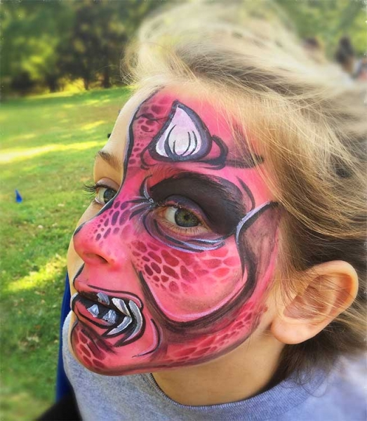 face painting by jennifer moselen