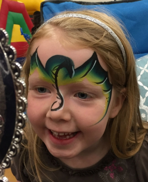 Face Paint by Amie Kinser