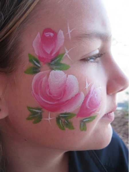 face painting by Morgan Feitner