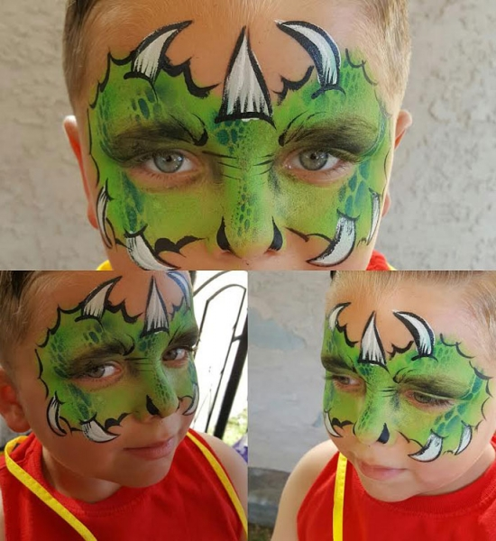 Chantel Keith Face Painting
