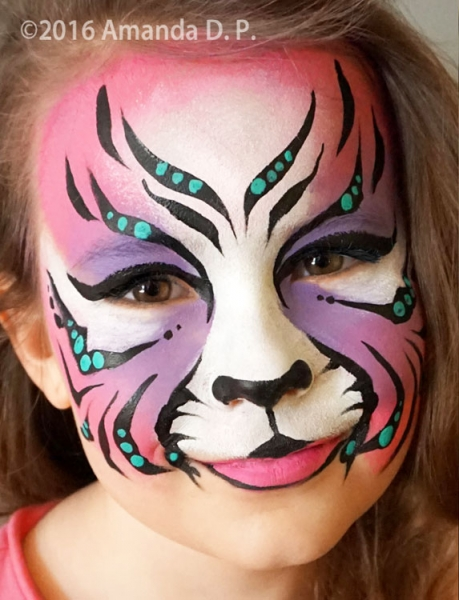 Face painting by Amanda Destro