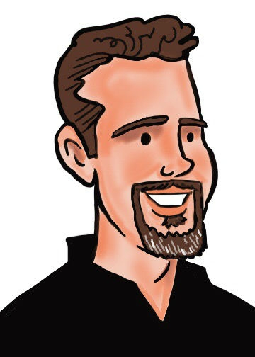 Mark Penta Digital Party Caricature