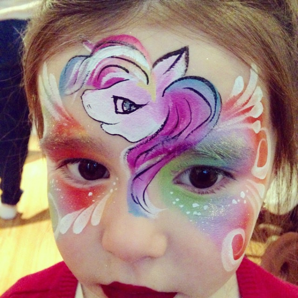 Face Paint by Shelly Luan