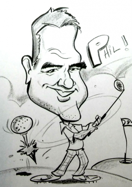 Tim Ingersoll Party Caricature