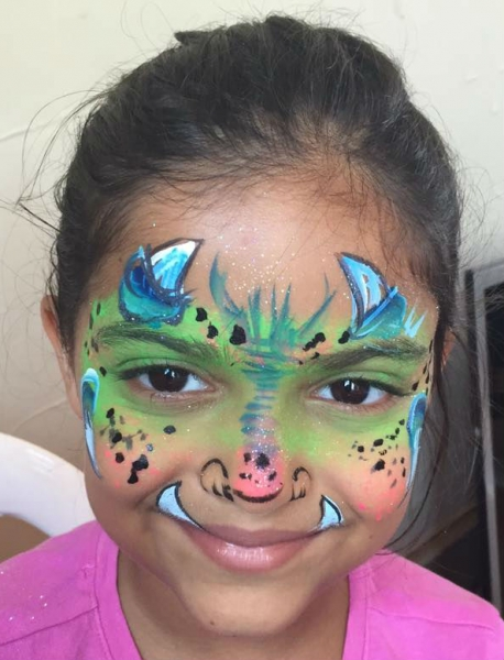 Face Paint by Kathy Rollwage
