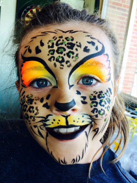 Face Paint by Jael Luckenbaugh