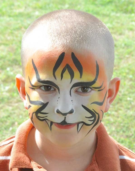 Rhea Brown Phoenix Face Painting
