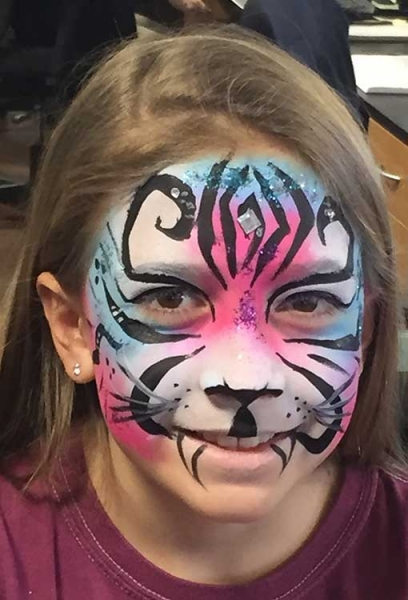 face paint by kimberly gonzalez