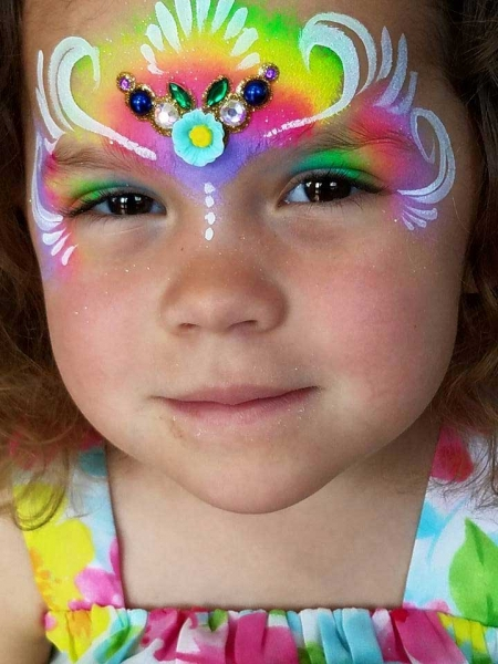 face paint by christine gloster