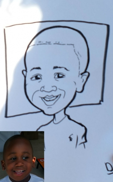 David Jackson Party Caricature