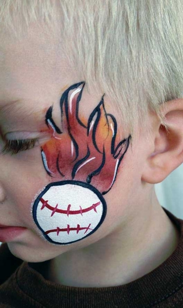 face painting by Veronica Roman