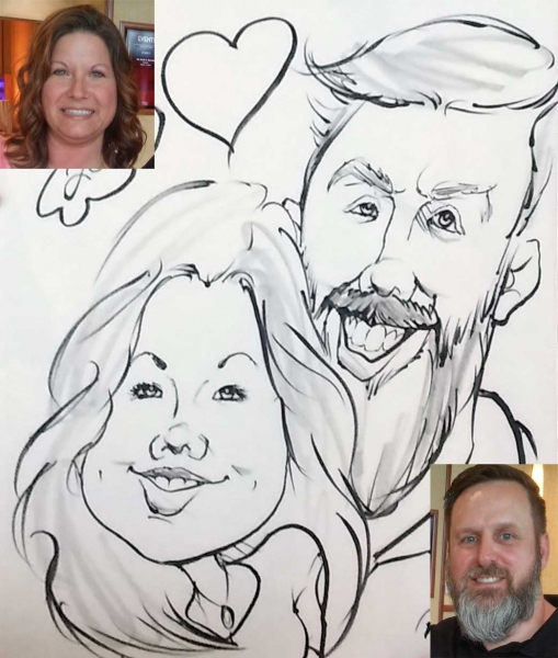 Mwan Henry Party Caricature