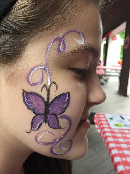 face painting by Pam Hasson