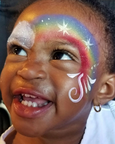 Face Painter Corinne Rodgers