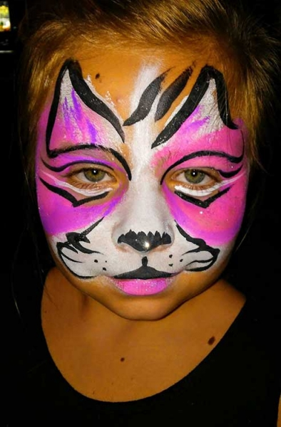 face painting by Michelle Doyle