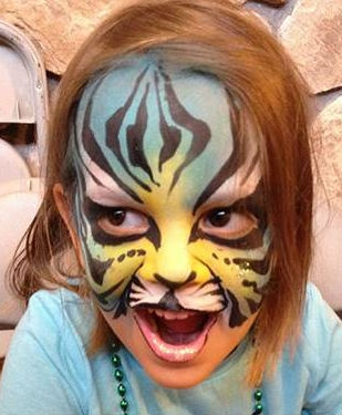 Face Paint by Alison Gelbman