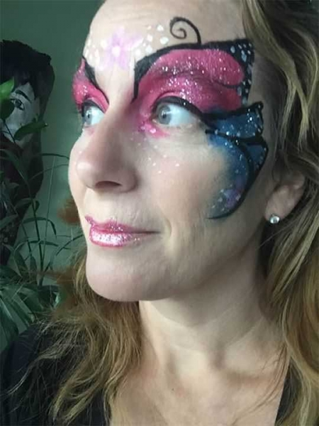 face painting by Diana Nakano