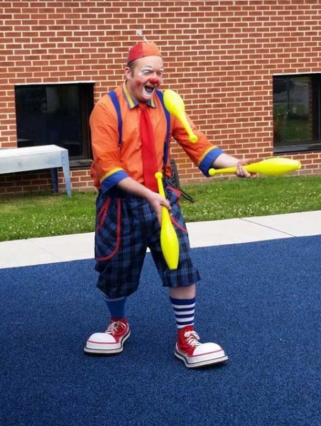 Melvino the clown Aaron Rider