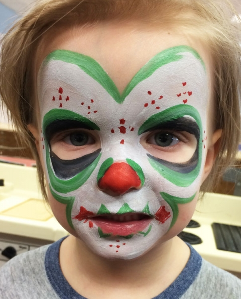 Benjamin McClintic Face Painting