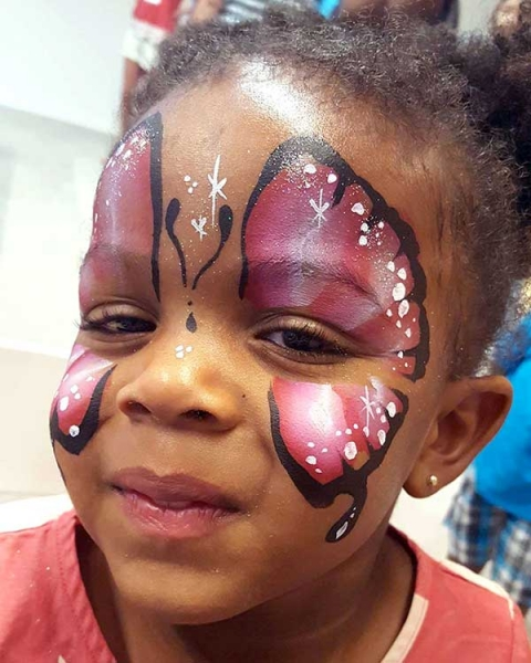 face painting by cait may