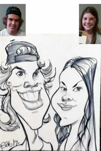 Bat Hilliard Caricature Artist