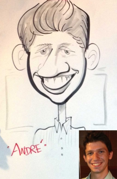 Mike Gillespie Caricature Artist