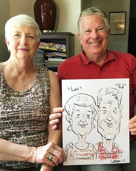 Terry LaBan Caricature Artist