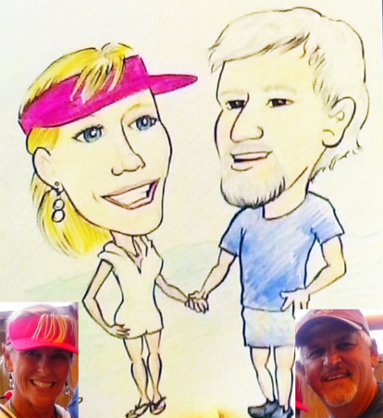 Mark Douglass Caricature Artist